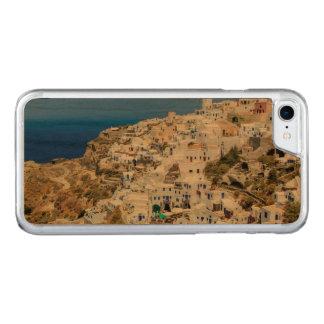 Oia village on Santorini island, north, Greece Carved iPhone 7 Case