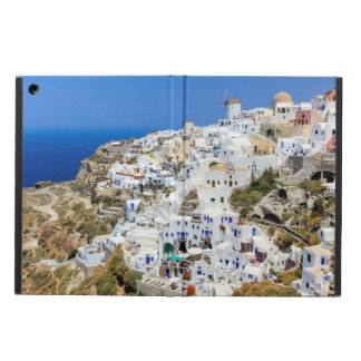 Oia village on Santorini island, north, Greece Case For iPad Air