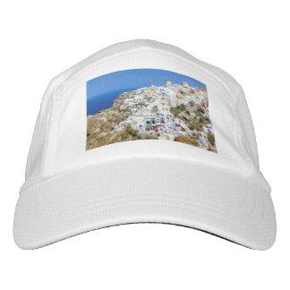 Oia village on Santorini island, north, Greece Headsweats Hat