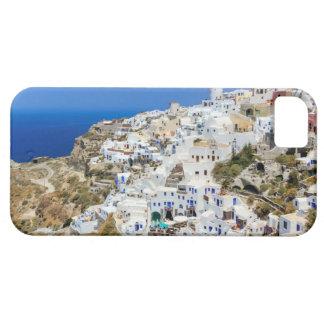 Oia village on Santorini island, north, Greece iPhone 5 Covers