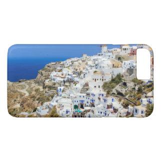 Oia village on Santorini island, north, Greece iPhone 7 Plus Case