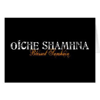 Oíche Shamhna: Blessed Samhain Card