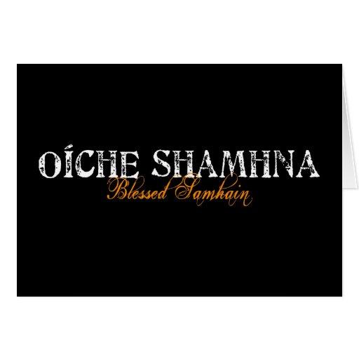 Oíche Shamhna: Blessed Samhain Greeting Cards