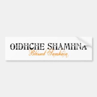Oidhche Shamhna: Blessed Samhain Bumper Sticker