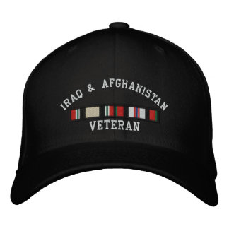 OIF and OEF Embroidered Hat