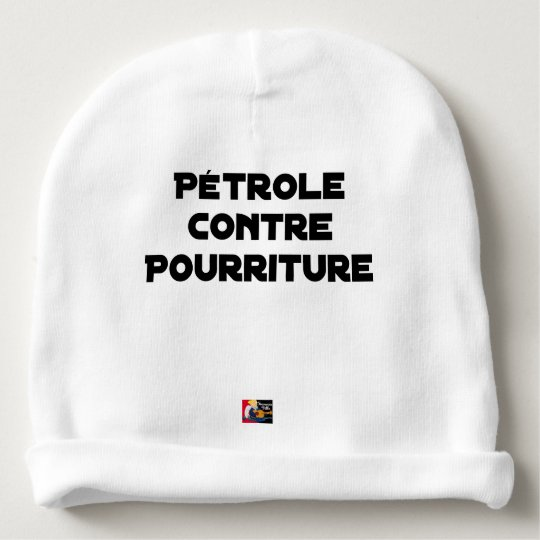 Oil against Rot - Word games Baby Beanie