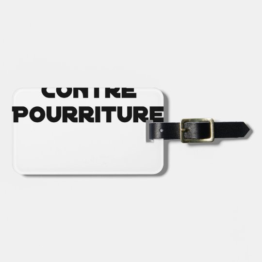 Oil against Rot - Word games Luggage Tag