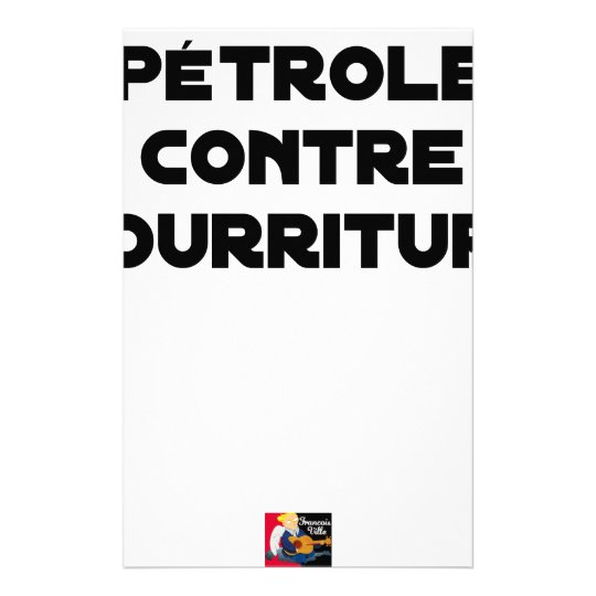 Oil against Rot - Word games Stationery