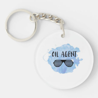 Oil Agent Keychain