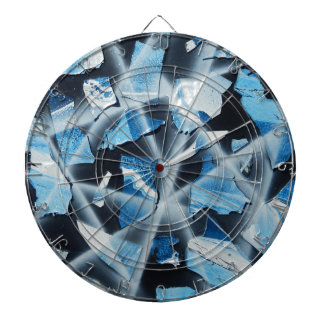 Oil and Water Dartboard