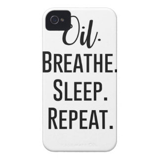 oil breathe sleep repeat - Essential Oil Product iPhone 4 Case-Mate Cases