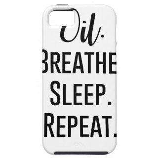oil breathe sleep repeat - Essential Oil Product iPhone 5 Case