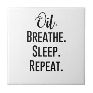 oil breathe sleep repeat - Essential Oil Product Tile