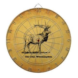Oil City, Washington Elk Dart Board