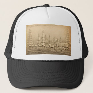 Oil Field  Humble, Texas Trucker Hat