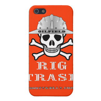 Oil Field Rig Trash,iPhone Case,Oil,Gas,Rigs iPhone 5 Cover