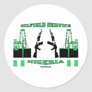 Oil Field Service Nigeria, Oil Patch Sticker