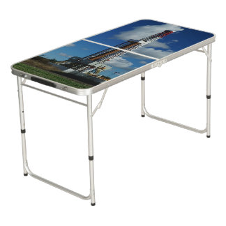 Oil Gas Rig Drilling Custom Tailgate  Pong Table