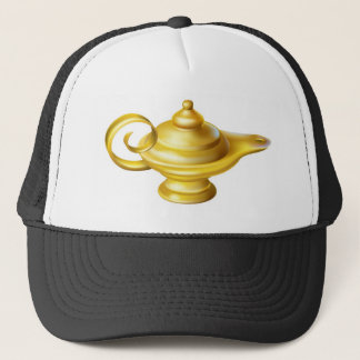 Oil Lamp Trucker Hat