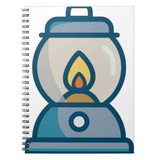 Oil Lantern Notebook