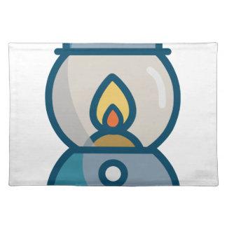 Oil Lantern Placemat