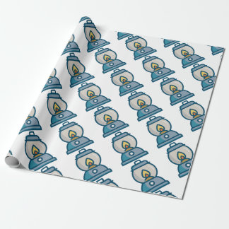 Oil Lantern Wrapping Paper