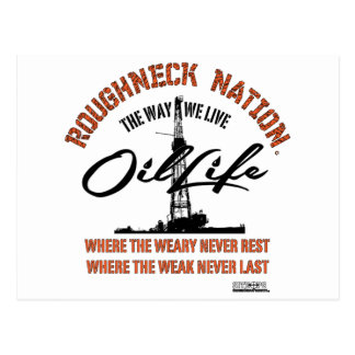 OIL LIFE Original Postcard
