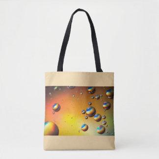 Oil on water tote bag