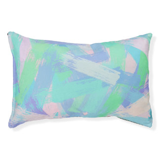 oil paint texture small dog bed