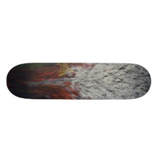 Oil Painting Hindrance Skateboard