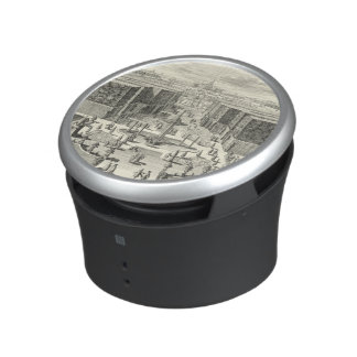 Oil Painting of Fountains at Garden of Versailles Bluetooth Speaker
