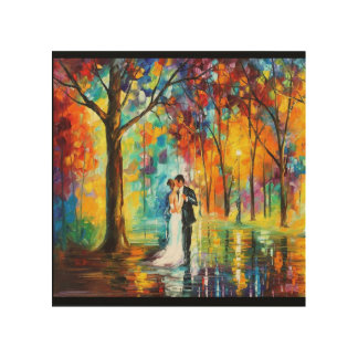 OIL PAINTING WOOD CANVAS