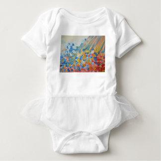 oil-paints baby bodysuit