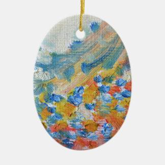 oil-paints ceramic ornament