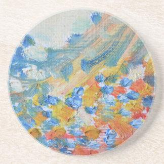 oil-paints coaster