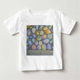 Oil Pastel River Rock and Pebbles Baby T-Shirt