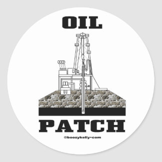 Oil Patch, Oil Field Sticker