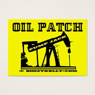 Oil Patch Pump Jack Business Cards,Pack Of 100 Business Card