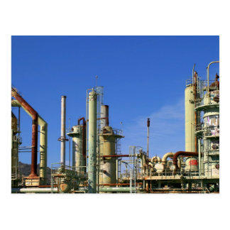 Oil Refinery Postcard