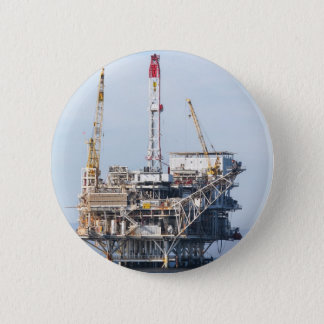Oil Rig 2 Inch Round Button