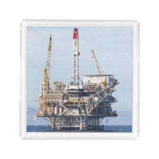 Oil Rig Acrylic Tray