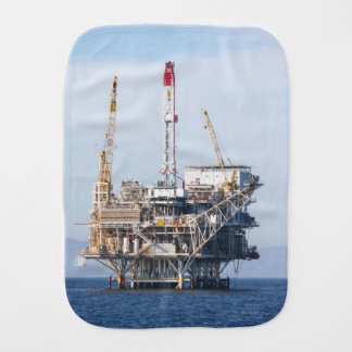 Oil Rig Burp Cloth