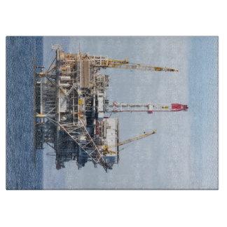 Oil Rig Cutting Board
