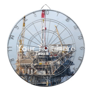 Oil Rig Dartboard With Darts