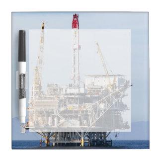Oil Rig Dry Erase Board