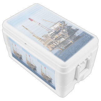 Oil Rig Ice Chest