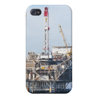 Oil Rig iPhone 4 Cover