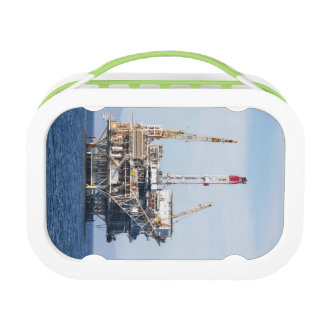 Oil Rig Lunch Box