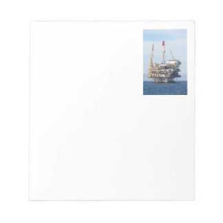 Oil Rig Notepad