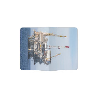 Oil Rig Passport Holder